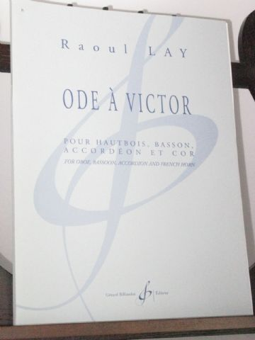 Lay R - Ode to Victor for Oboe Bassoon Accordion & Horn